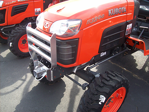 Kubota Brush Guard Parts : Fab works oem kubota attachments