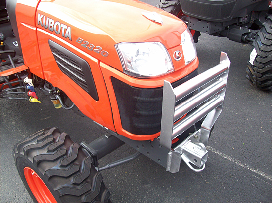 Tractor Grill Guard For Trailer : Fab works oem kubota attachments