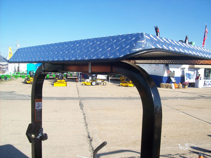 Diamond Plate Sunshade Canopy