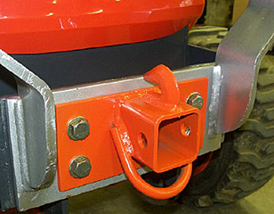 Kubota BX Series Front Mount 2 inch Hitch