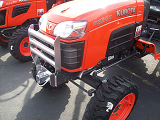 Kubota B Series Grill Guard with 2 inch Receiver Hitch