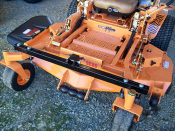 Front Mount Zero Turn Mower Attachments