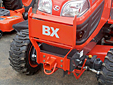 Grill Guard with Receiver Hitch for BX Tractors
